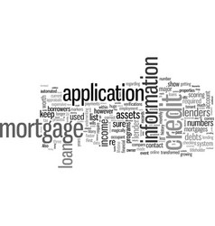 How to get your first mortgage vector