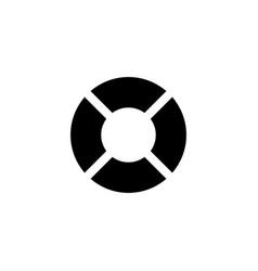life bouy icon vector image