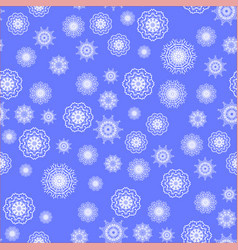 Show flakes seamless pattern vector