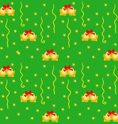 Green Xmas Wrapping vector image vector image