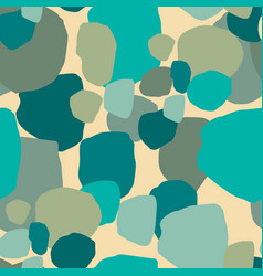 abstract artistic seamless pattern with spots vector image