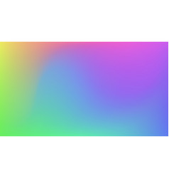 abstract gradient colorful background vector image