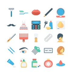 Beauty and SPA Colored Icons 4 vector