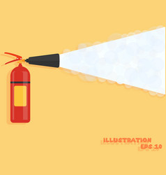 Fire extinguisher fire protection icon vector