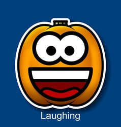 Laughing vector image vector image