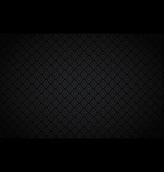 rhombus black background vector image