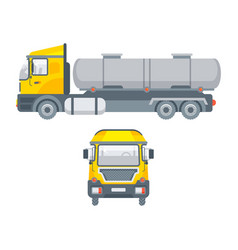 truck for water transportation vector image