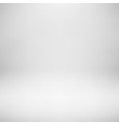 White Empty Studio Background vector image