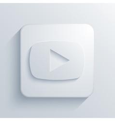 modern play light icon vector image