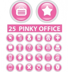 office signs vector image