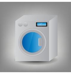 Washing Machine icon vector image