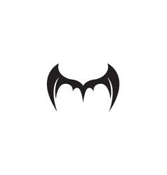 Wing bat logo and symbols template icons vector