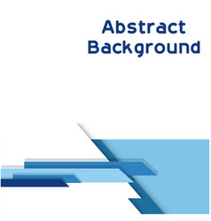 abstract modern blue color white background vector image