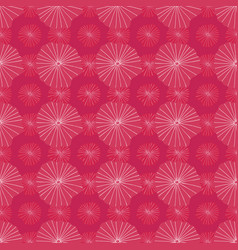 bright pink seamless repeat pattern of vector image