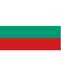 bulgaria flag official colors correct proportion vector image