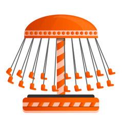 carrousel icon cartoon style vector image