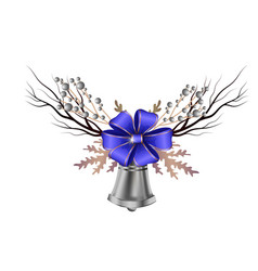 Christmas decoration isolated vector