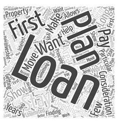 Deciding on the Loan you will Get Word Cloud vector