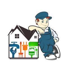 Repair housing master vector