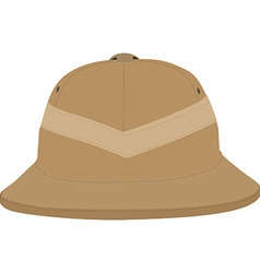 Safari hat vector image