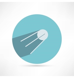 Satellite icon vector