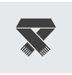 Scarf icon vector