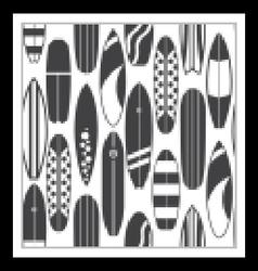 Surfing pattern background vector
