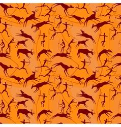 hanter seamless vector image vector image