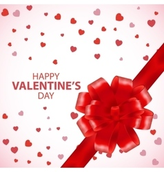 Valentines Day Card Valentine background Gift vector image vector image