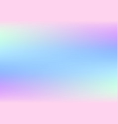 Abstract holographic background with pastel colors vector