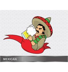 Cartoon mexican vector