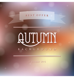 Creative abstract natural background vector