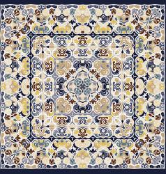 Delicate colored handkerchief vector