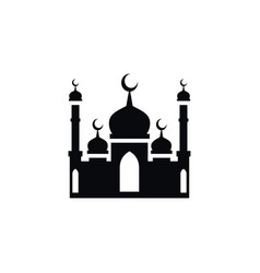 isolated mohammedanism icon culture vector image