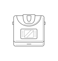 multi cooker icon vector image
