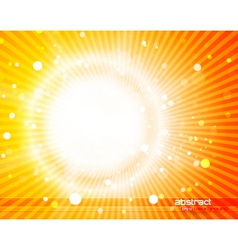 sunlight background vector image vector image