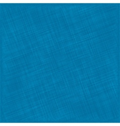 Blue Natural Cotton Fabric Textile Background vector image vector image