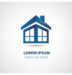 Abstract house logo vector