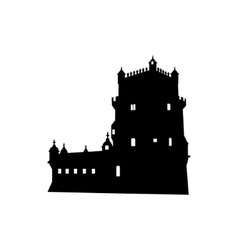 Belem Tower in Lisbon Portugal vector image