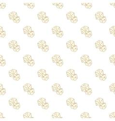 Dice pattern cartoon style vector image vector image