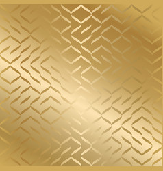 geometric seamless golden texture gold wrapping vector image