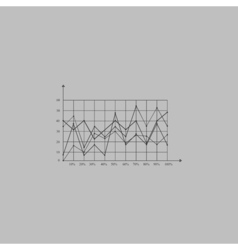 Graphs computer symbol vector