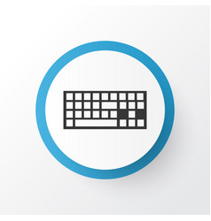 keyboard icon symbol premium quality isolated vector image vector image