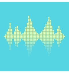 equalizer background vector image