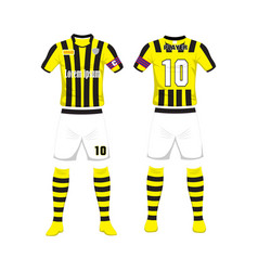 Uniform of football sport design template sport vector