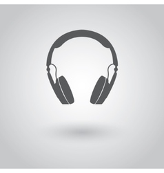 Modern headphones icon vector image vector image