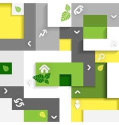 Eco Infographic Elements vector image