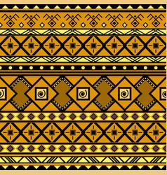geometric tribal seamless pattern vector image