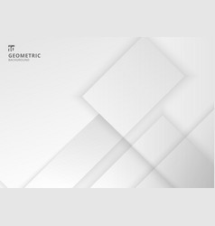 abstract background white and gray geometric vector image