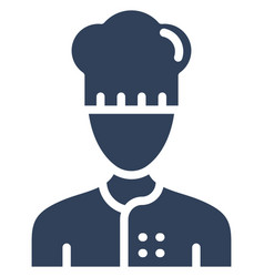 Chef icon which can easily modify or edit vector